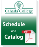Cañada College Schedule of Classes